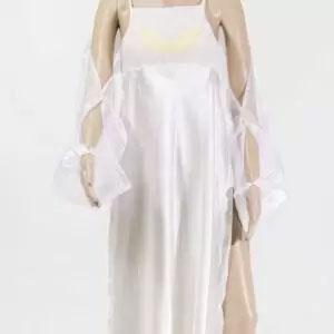 robe longue ailes ivoir de lydie danse