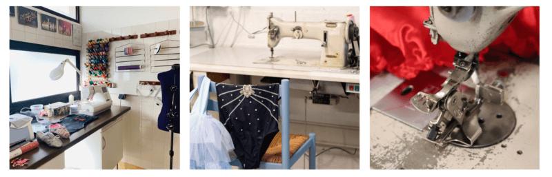 Atelier de confection de costumes de scène Lydie Danse