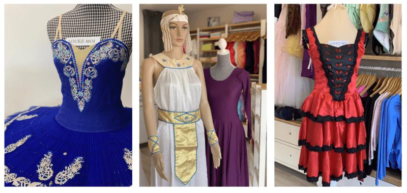Costumes de scéne réalisés par lydie Danse