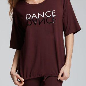 tee shirt mirror de la marque temps danse