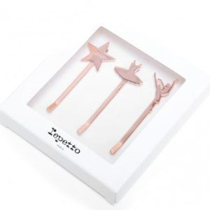 kit 3 barettes plates de Repetto