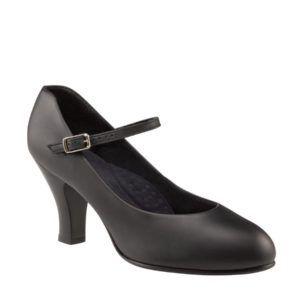 chaussure footlight 656 noir de bloch