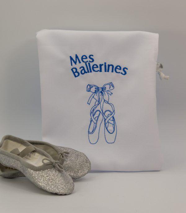 sac ballerine blanc