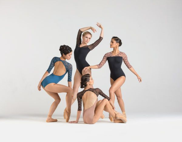 justaucorps Anouk de ballet ros