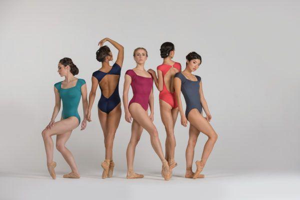 Justaucorps Antonella de la marque ballet rosa