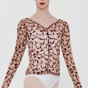 tee shirt iberis burgundy de wear moi